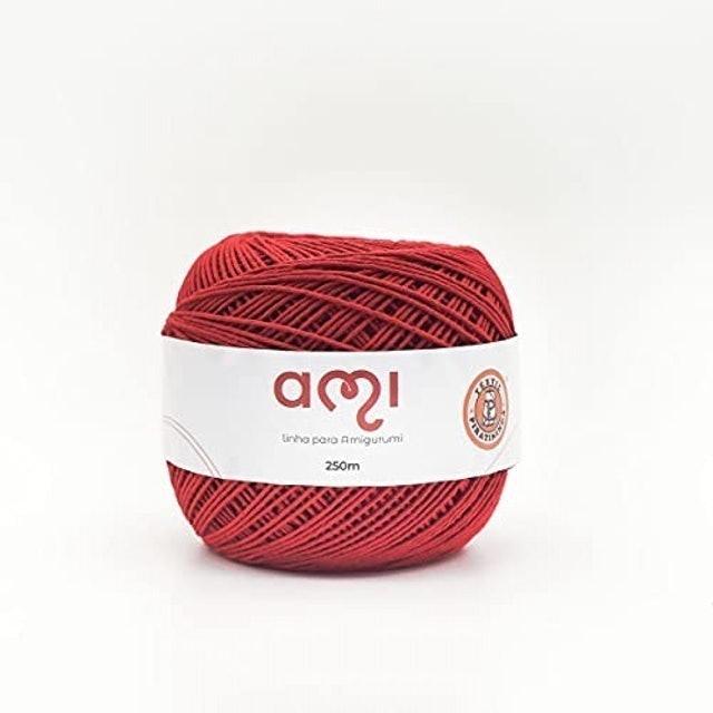 TÊXTIL PIRATININGA  Linha Ami para Amigurumi (Vermelha) 1