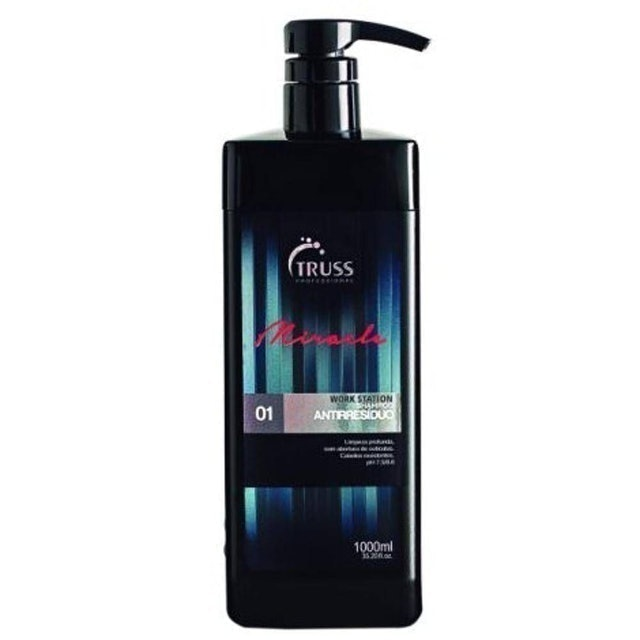 TRUSS PROFESSIONAL Work Station Miracle Shampoo Light Cleanser Antirresíduo 1