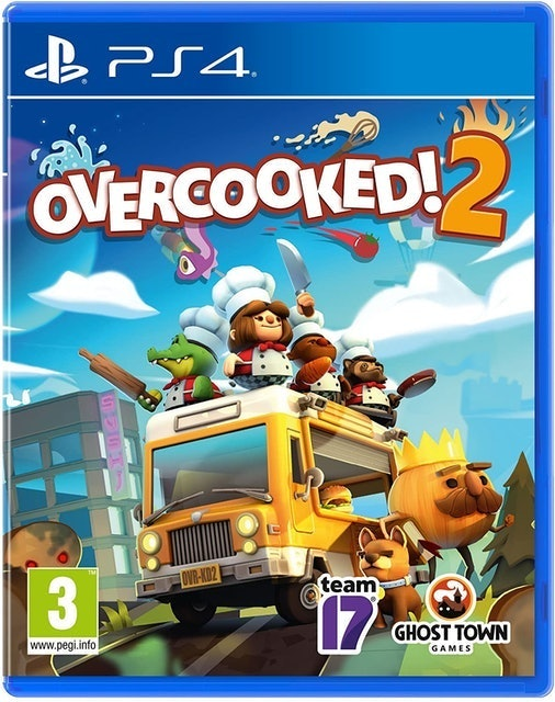 TEAM17 Overcooked 2 para PS4 1