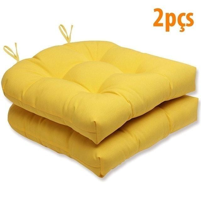 FASTLAR Kit 2 Almofadas para Cadeiras FastLar Amarelo 1