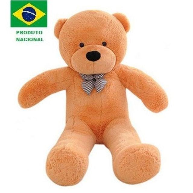 URSOS E PELÚCIAS Urso de Pelúcia Gigante Teddy Bear Bege 1
