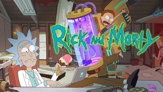 CARTOON NETWORK Rick and Morty 1