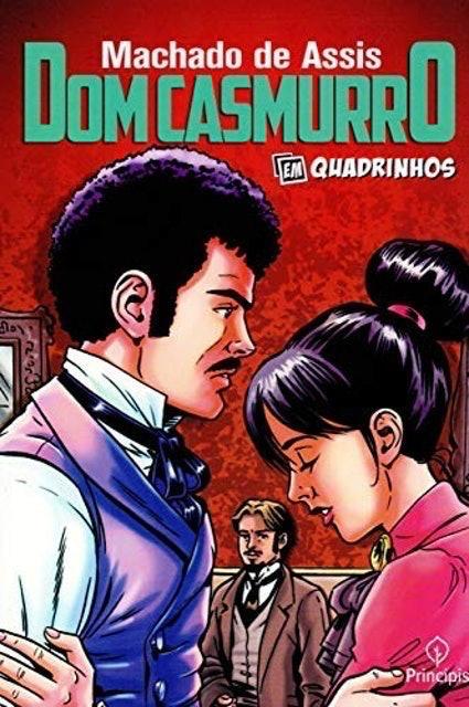 Caio Majado Dom Casmurro em Quadrinhos 1
