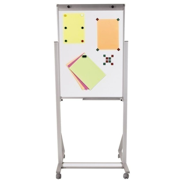 SOUZA Cavalete Flip Chart de Alumínio - Magnético 1