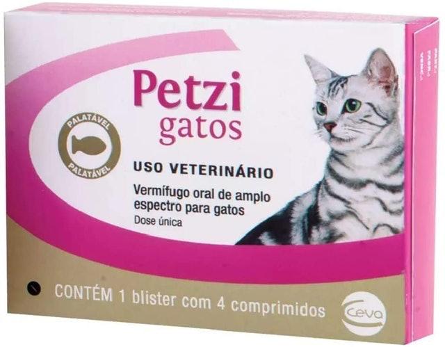 CEVA Vermífugo Petzi Gatos 1