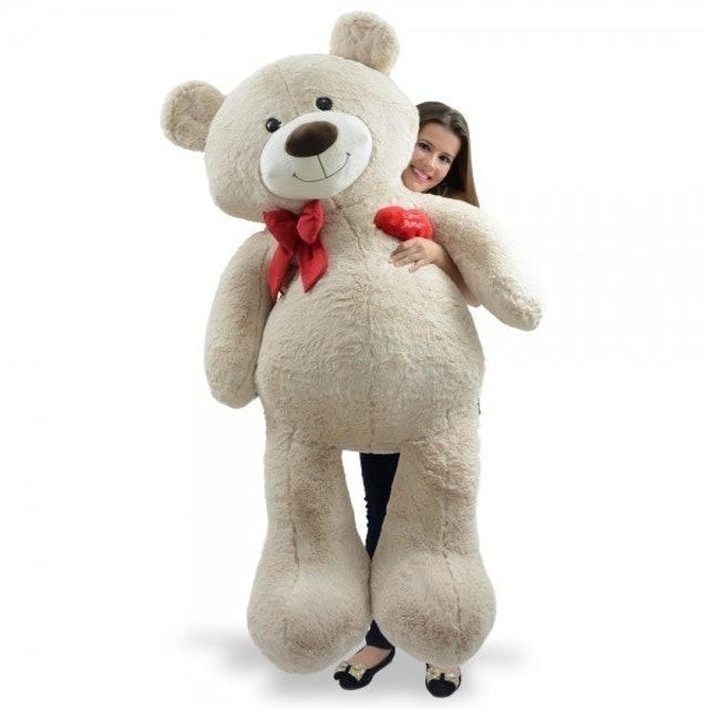 APAIXONADOS POR PELÚCIA Urso de Pelúcia Gigante Apaixonado 1
