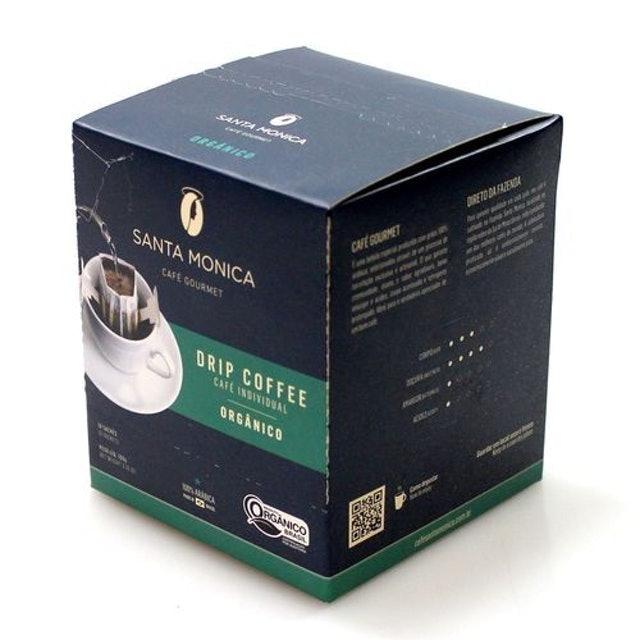 SANTA MONICA Café Gourmet Individual Drip Coffee Orgânico 1