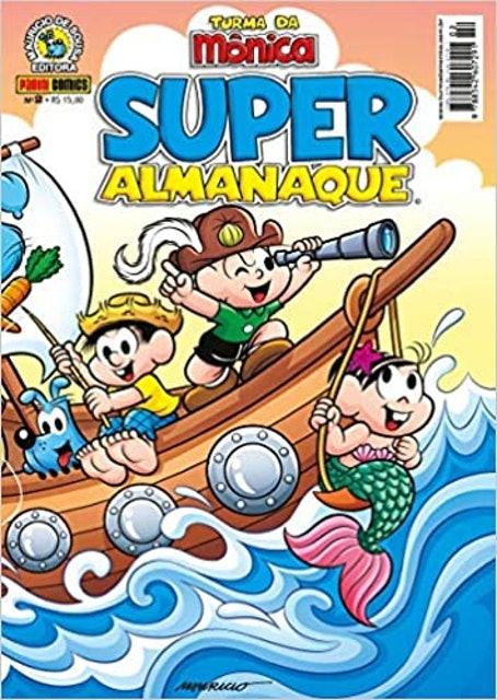 MAURICIO DE SOUSA Super Almanaque Turma da Mônica - Volume 2 1