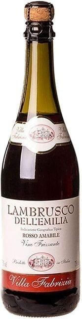 VILLA FABRIZIA Vinho Lambrusco Dell'Emilia 1