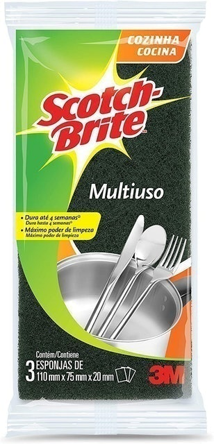 SCOTCH-BRITE Esponja Multiuso 1