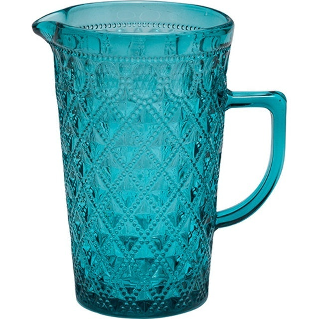 ROJEMAC Jarra De Vidro Diamond Azul 1