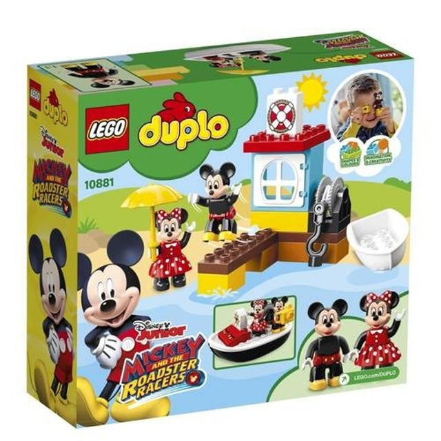LEGO  Duplo O Barco do Mickey 1