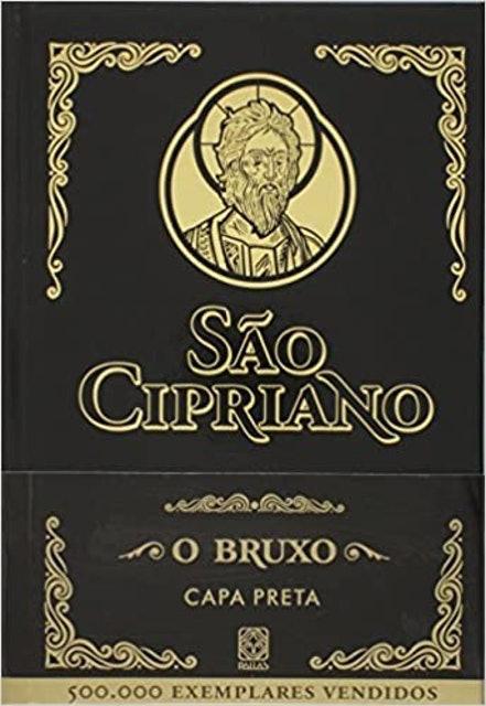 PALLAS São Cipriano O Bruxo: Capa Preta 1