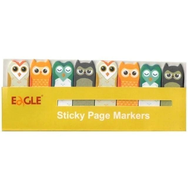 EAGLE Marcador de Páginas de Coruja 1