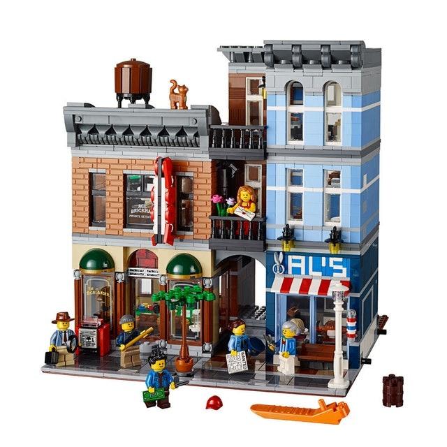 LEGO  Creator Expert Escritório Detetive 1
