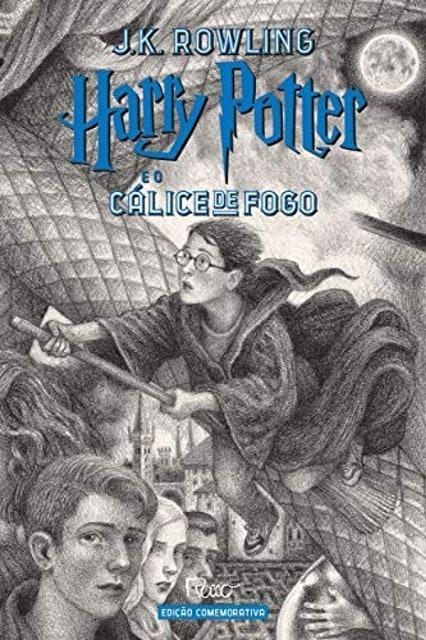 J. K. Rowling Harry Potter e o Cálice de Fogo - Edição Comemorativa dos 20 Anos 1