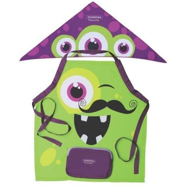 TRAMONTINA Avental Infantil Monster Chef 1