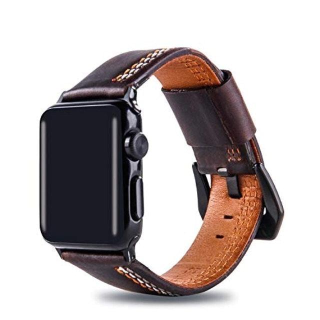 LTIMPORTS Pulseira de Couro Line para Apple Watch 1