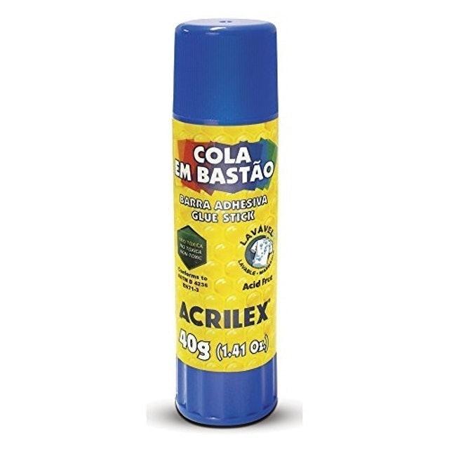 ACRILEX Cola em Bastão 40 g 1
