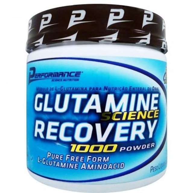 PERFORMANCE SCIENCE NUTRITION  Glutamine Science Recovery 1000 Powder 1