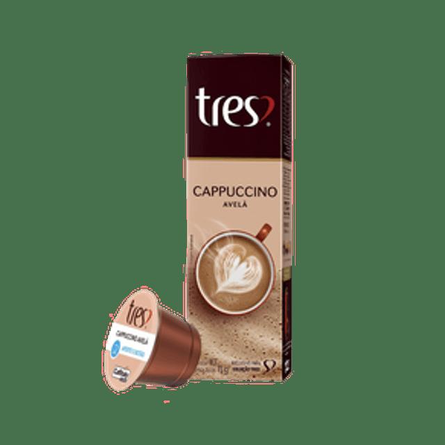 TRÊS CORAÇÕES Cappuccino Avelã 1