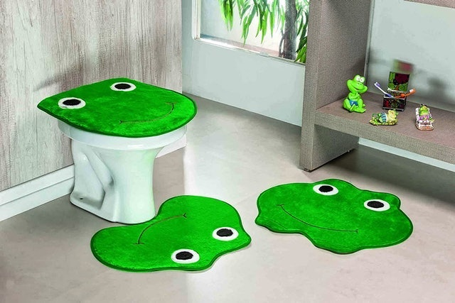 GUGA TAPETES Kit Banheiro Sapo  1