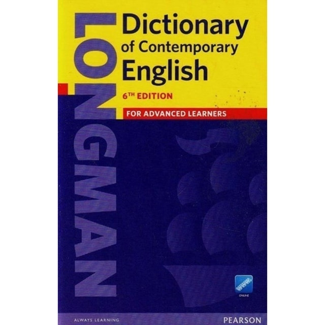 PEARSON ENGLISH Longman Dictionary Of Contemporary English 1