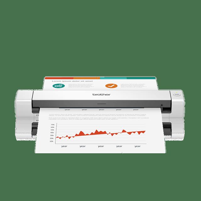 BROTHER Scanner Portátil de Documentos DS-640 1