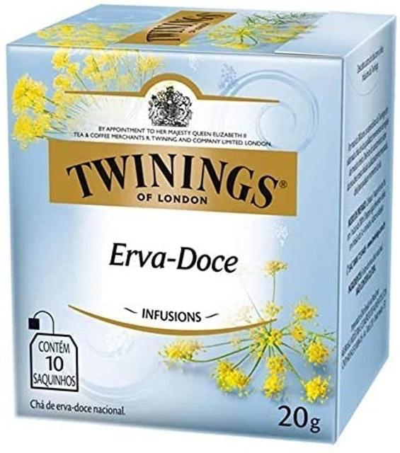 TWININGS OF LONDON Chá de Erva-Doce Nacional 1