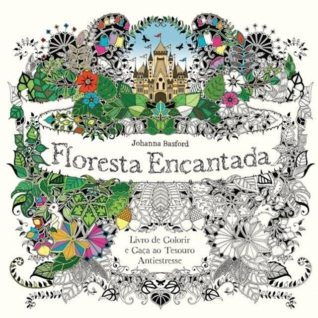 JOHANNA BASFORD Floresta Encantada 1