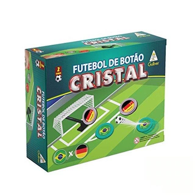 GULLIVER Futebol de Botão Cristal Brasil x Alemanha 1