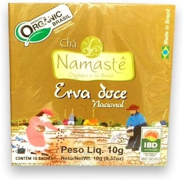 NAMASTÊ Chá de Erva-Doce Nacional 1