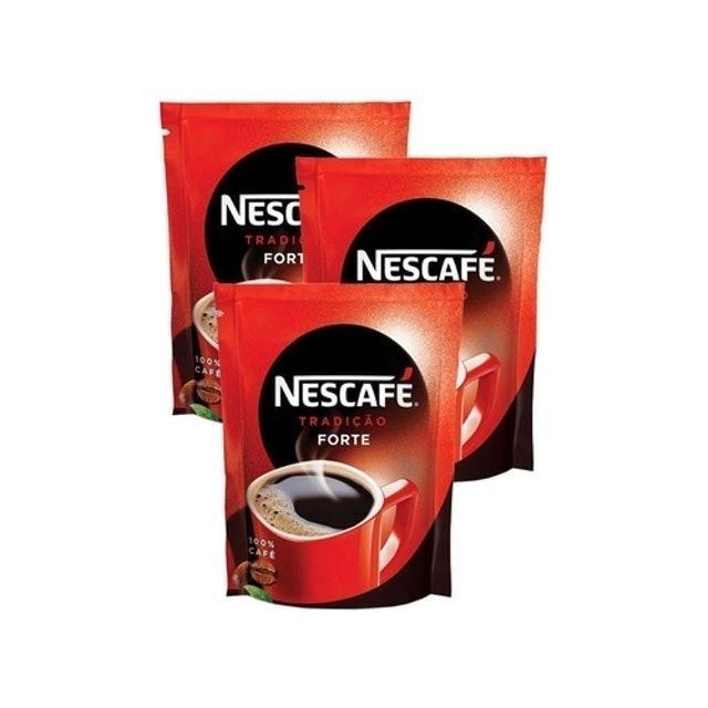 NESCAFÉ Kit 3 Café Solúvel Tradição Sachet 1
