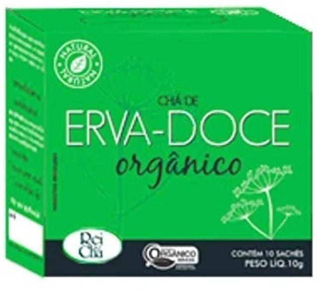 CAMPO VERDE Chá de Erva-Doce Orgânico 1