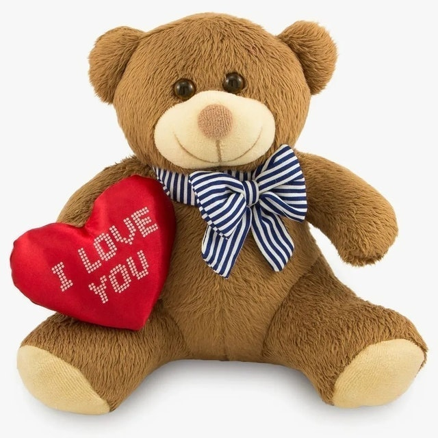 TOYBRINK Urso de Pelúcia - I Love You 1