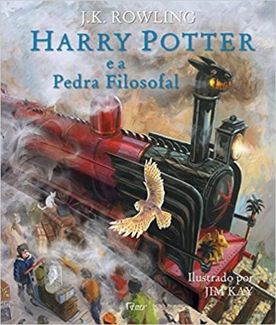 J.K.ROWLING Harry Potter e a Pedra Filosofal - Edição Ilustrada 1