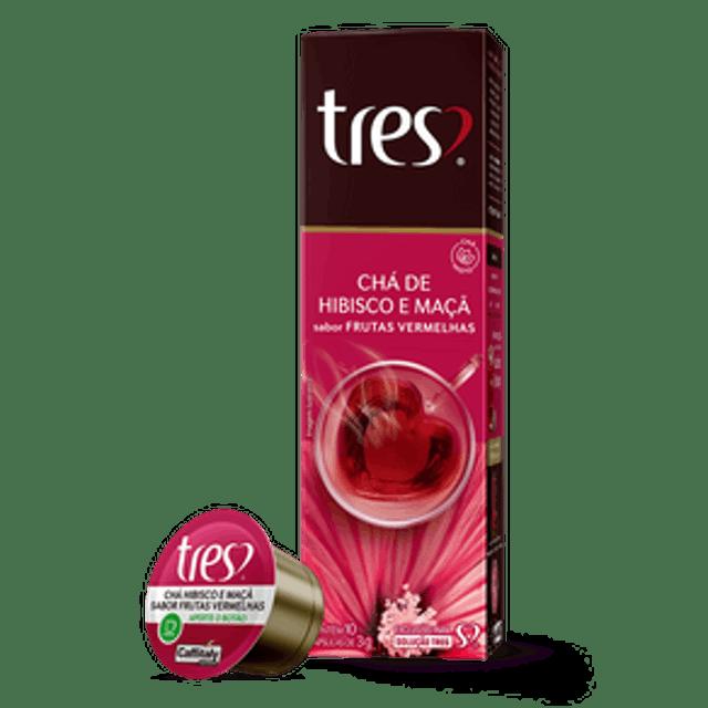 TRÊS CORAÇÕES Chá de Hibisco e Maçã 1