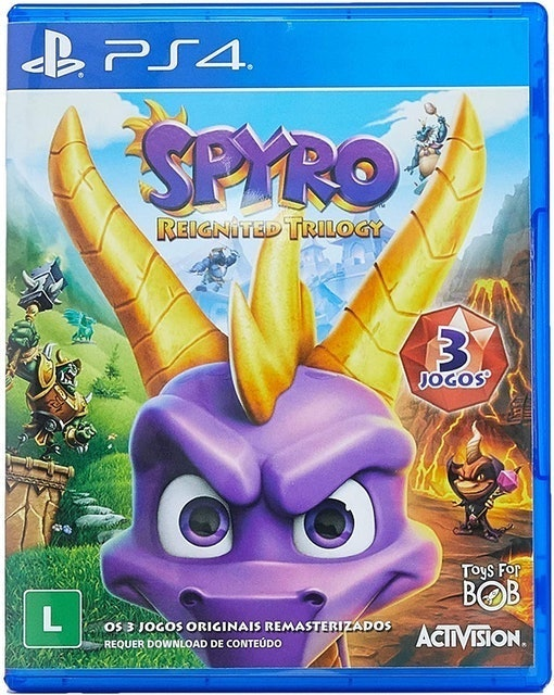 ACTIVISION Spyro Reignited Trilogy para PS4 1
