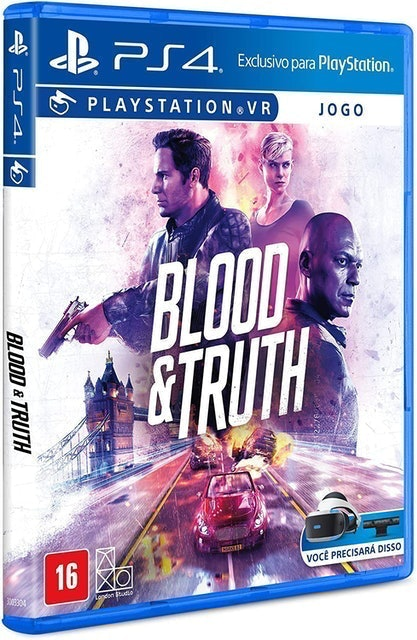SONY INTERACTIVE ENTERTAINMENT Blood & Truth para PlayStation VR (PS4) 1