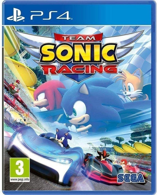 SEGA Team Sonic Racing para PS4 1