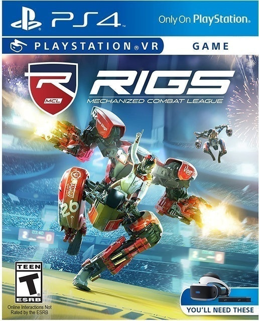 SONY INTERACTIVE ENTERTAINMENT RIGS Mechanized Combat League para PlayStation VR (PS4) 1