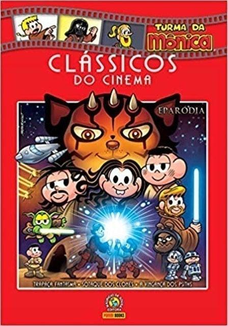 MAURICIO DE SOUZA Clássicos do Cinema: Eparódias - Vol. 07 1