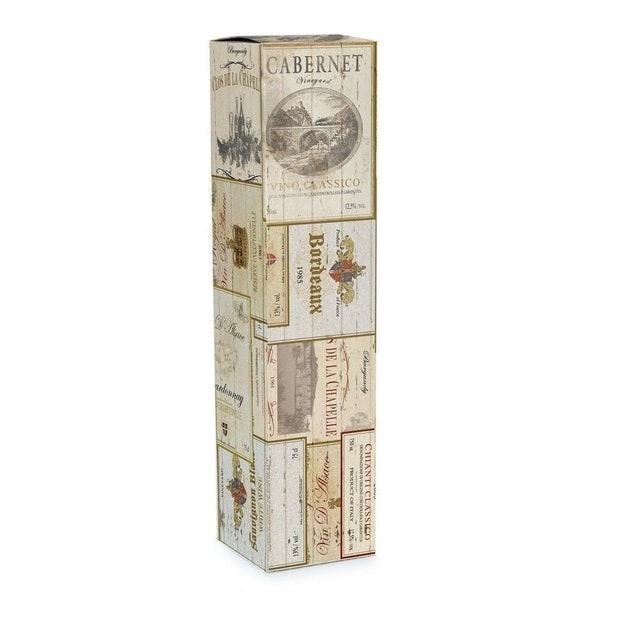 CROTUS Caixa Para Vinho Presente Rótulos 10 Unidades 1