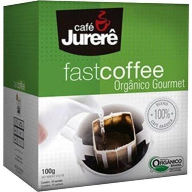 CAFÉ JURERÊ Kit com 2 Cafés Orgânico Fast Coffee 1