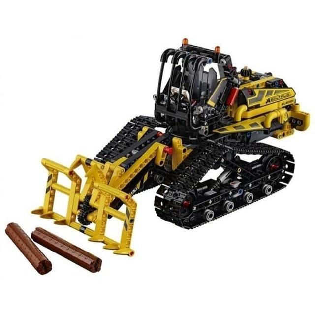 LEGO  Technic Trator Carregador de Esteiras 1