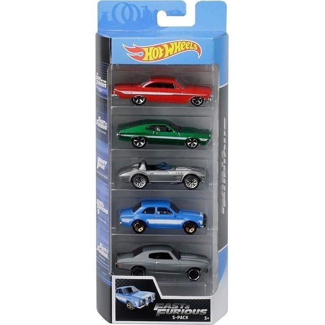 HOT WHEELS  5 Carrinhos Velozes e Furiosos  1
