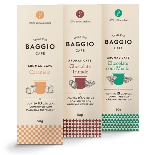 BAGGIO Kit Completo Cápsulas Aroma 1