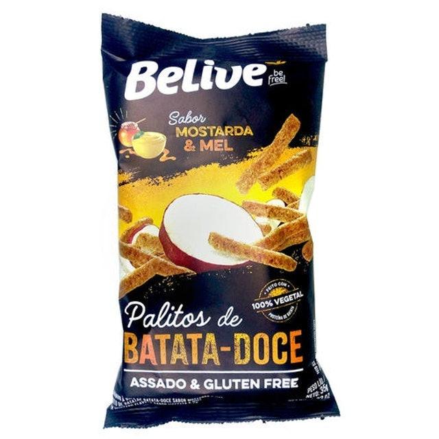BELIVE Belive Palitos de Batata Doce Mostarda e Mel 1