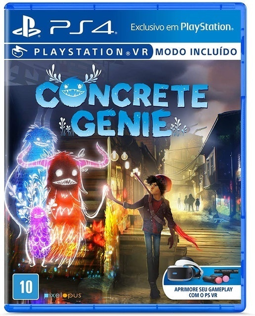 SONY INTERACTIVE ENTERTAINMENT Concrete Genie para PlayStation VR (PS4) 1