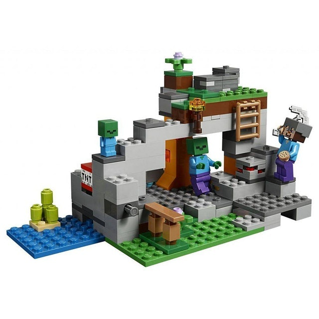 LEGO  Minecraft A Caverna do Zombie 1